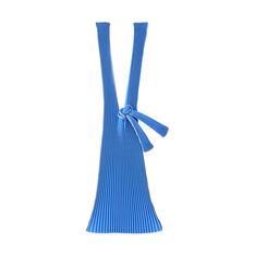 Japanese Pleated Tote - Blue in color Blue