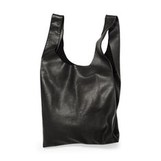 Simple Leather Tote in color
