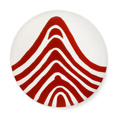 Louise Bourgeois: Red Curve Plate in color