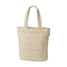 UNIQLO Keith Haring Beige Padded Tote in color Beige