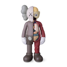 KAWS COMPANION Flayed Brown in color