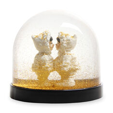 Eskimo Kiss Snowglobe in color