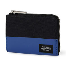 Jack Spade Dipped Coin Wallet - Blue Dipped in color