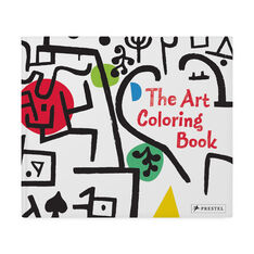 The Art Coloring Book in color