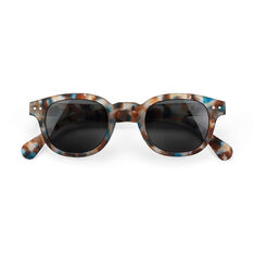 IZIPIZI Blue Tortoise Sunglasses 0.0 in color BL Tortoise