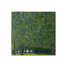 Klimt: The Park Framed Print in color