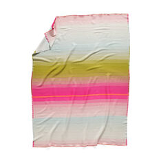 HAY Color Plaid Throw - No.3 Pink & Olive in color Multi