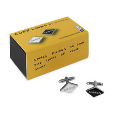 David Shrigley Chaos/Order Cufflinks in color CHAOS