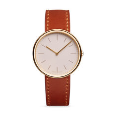 Uniform Wares M35 PVD Gold Women's Watch in color