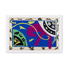 Henri Matisse: Horse  Rider and Clown Magnet in color