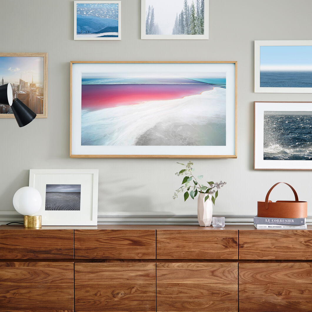 2017 Color Of The Year Samsung The Frame Tv 55 Screen Moma Design Store