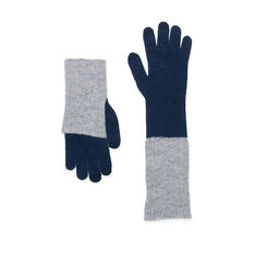 Long Foldover Touch Gloves in color