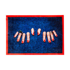 Seletti Wears Toiletpaper Rug: Fingers in color