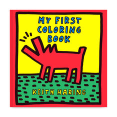 Keith Haring: My First Coloring Book in color
