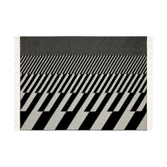 Alexander Girard Diagonals Blanket in color