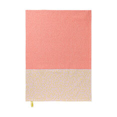 Splash Tea Towels - Pink/ Yellow in color Pink/ Yellow