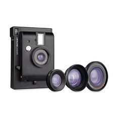 Lomo' Instant Camera with Lenses in color