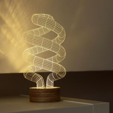 Spiral BULBING Lamp in color