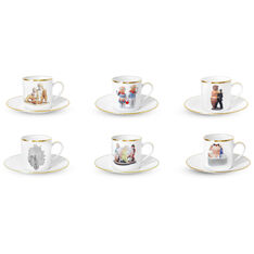 Jeff Koons: Banality Coffee Cups and Saucers in color