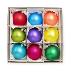 Rainbow Ornament Set in color