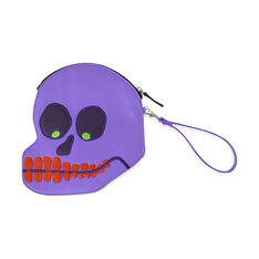 David Shrigley Skull Purse in color