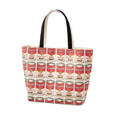 UNIQLO Andy Warhol Soup Can Tote Bag in color
