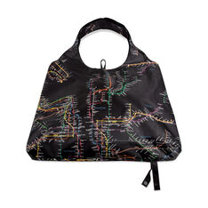 Reusable NYC Subway Tote in color