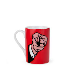 Roy Lichtenstein: Finger Pointing Mini Mug in color