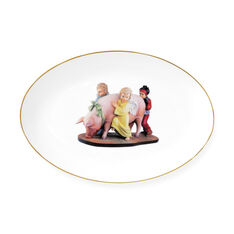 Jeff Koons: Banality Oval Platter in color