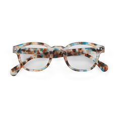 IZIPIZI Blue Tortoise Glasses 1.0 in color BL Tortoise
