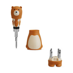 Papa Bear Screwdriver Set in color