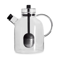Glass Teapot Infuser in color
