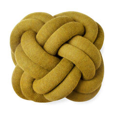 Knot cushion Yellow in color Yellow
