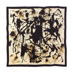 Pollock Untitled Scarf in color