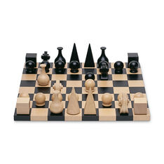 Man Ray: Chess Set Board in color