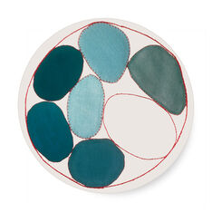 Louise Bourgeois: Blue Circles Plate in color