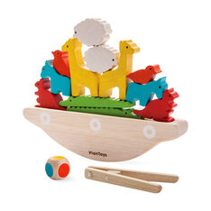 Balancing Boat Game in color