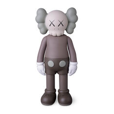 KAWS COMPANION Full Body Brown in color