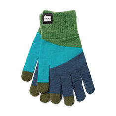 Touch Gloves in color Blue/Green