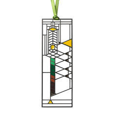 Robie Window Bookmark in color