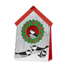 Holiday Birdhouse Holiday Cards in color