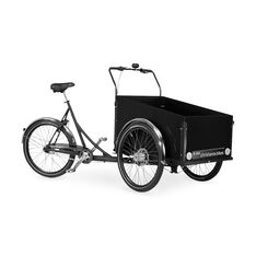 Christiania Cargo Bike - Black in color