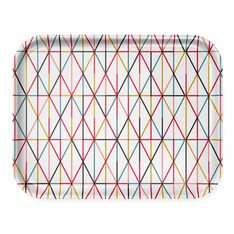 Alexander Girard Grid Tray Large in color