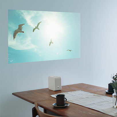 Portable Ultra Short Throw Projector