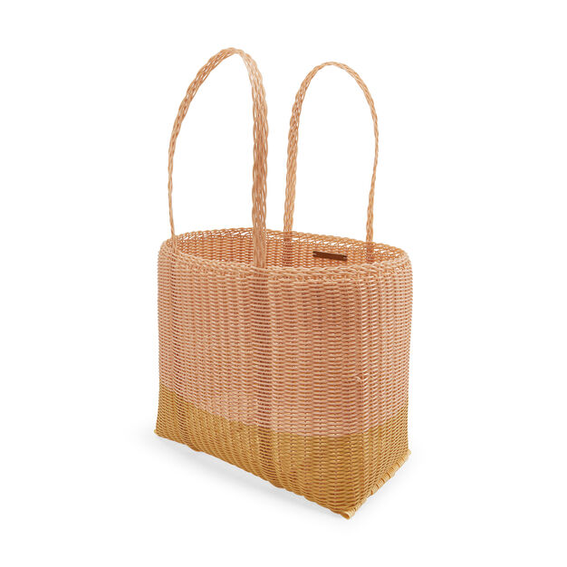 Palorosa Basket Tote Bags in color Blush