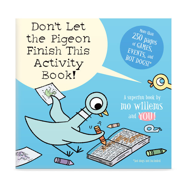 Don't Let the Pigeon Finish this Activity Book in color