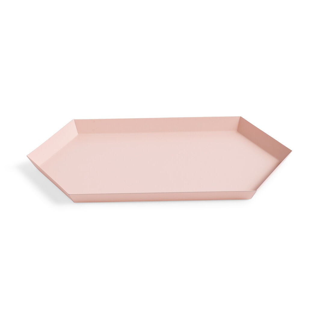HAY Kaleido Tray Medium in color Peach