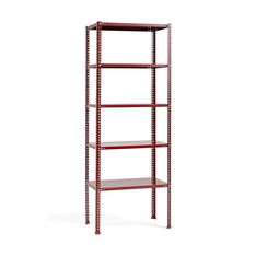 HAY Shelving Unit in color Burgundy