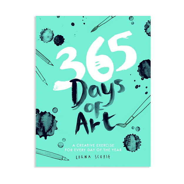 365 Days of Art: A Creative Exercise for Every Day of the Year - Paperback in color