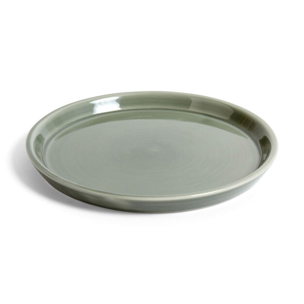 HAY Botanical Saucer in color Dusty Green